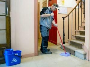 Un métier très utile : gardien d'immeuble